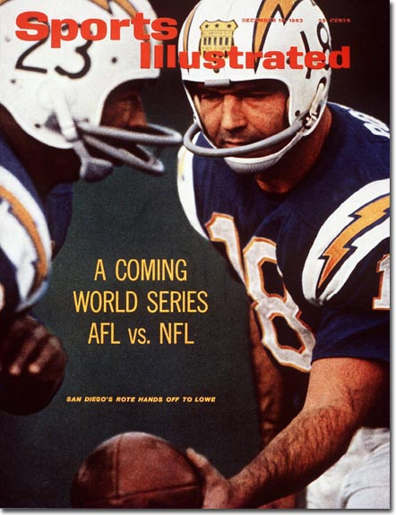 A History Of San Diego Chargers On The Cover Of Sports