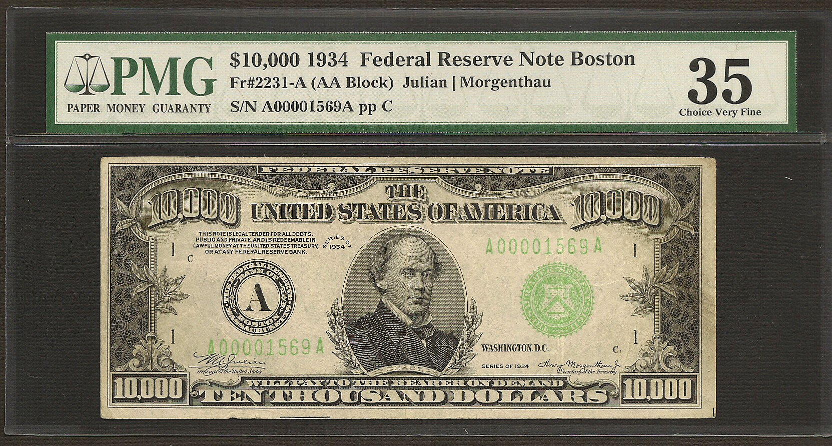 you can buy this real 10 000 dollar bill for only 89 000 lobshots