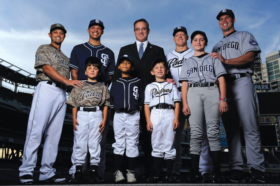 best service 7cc17 91a53 MUST SEE: Replica Padres Jerseys for 11,000 San Diego Kids ...