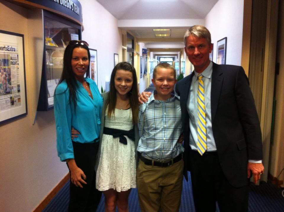 Meet Mike Mccoy And His Lovely Family Lobshots