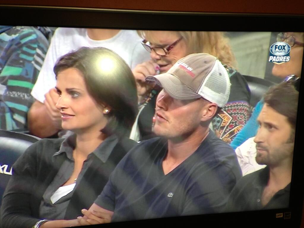 Philip Rivers Is At The Padres Game Tonight Lobshots