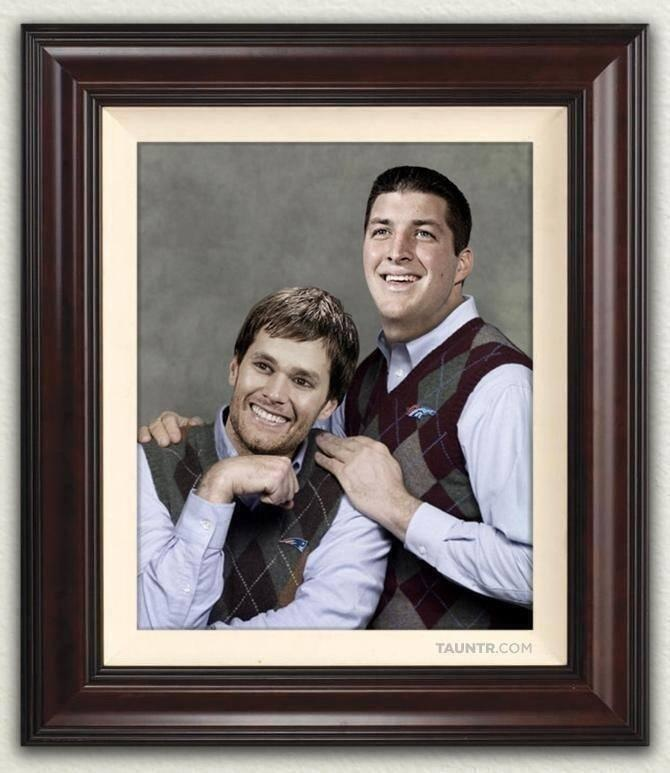 timmy-tebow and tommy-brady