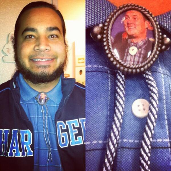 San Diego Chargers Boltman: Mind Blown Over This Handmade Bolo Tie